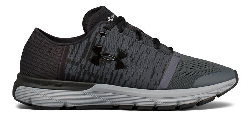 Mens Under Armour Speedform Gemini 3 GR Running Shoe - Black/Grey 13