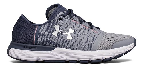Womens Under Armour Speedform Gemini 3 GR Running Shoe - Steel/Grey 7