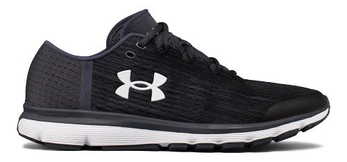Mens Under Armour Speedform Velociti GR Running Shoe - Black/Stealth Grey 11