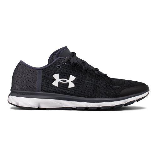 Mens Under Armour Speedform Velociti GR Running Shoe - Black/Stealth Grey 14