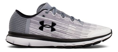 Mens Under Armour Speedform Velociti GR Running Shoe - White/Steel 9