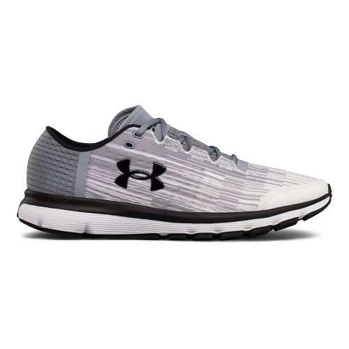 Mens Under Armour Speedform Velociti GR Running Shoe - White/Steel 12