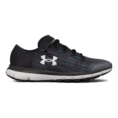 Womens Under Armour Speedform Velociti GR Running Shoe - Grey/Black 9.5