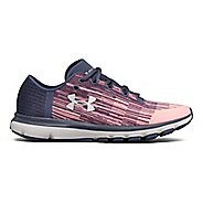 Womens Under Armour Speedform Velociti GR Running Shoe - Ink/Blue 10.5