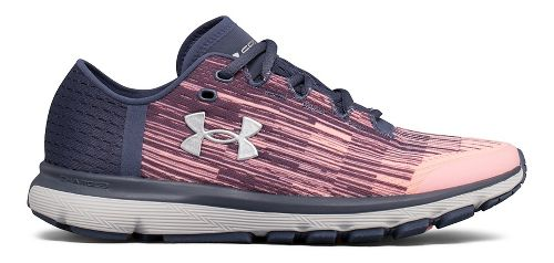 Womens Under Armour Speedform Velociti GR Running Shoe - Red/White 9