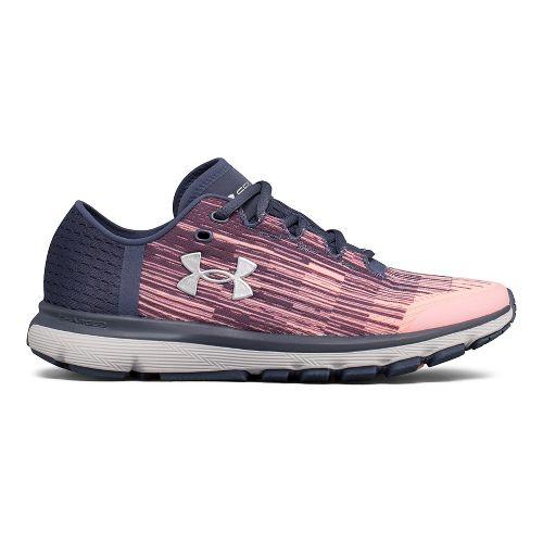 Womens Under Armour Speedform Velociti GR Running Shoe - Red/White 9