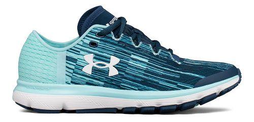 Womens Under Armour Speedform Velociti GR Running Shoe - Ink/Blue 6.5
