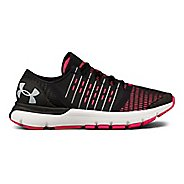 Womens Under Armour Speedform Europa Running Shoe - Black/Pink 9.5