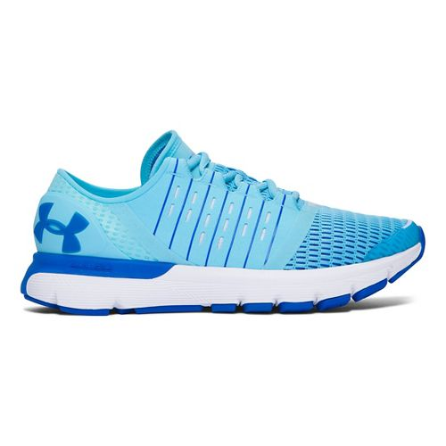 Womens Under Armour Speedform Europa Running Shoe - Venetain Blue 8