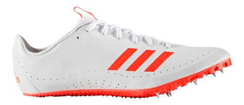 Mens adidas Sprintstar Track and Field Shoe - Red/White 14