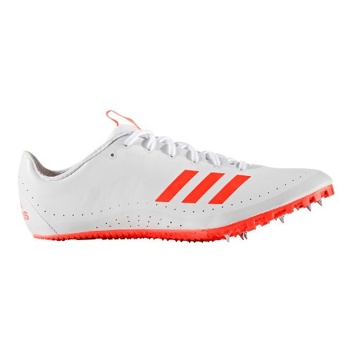 Mens adidas Sprintstar Track and Field Shoe - Red/White 10.5