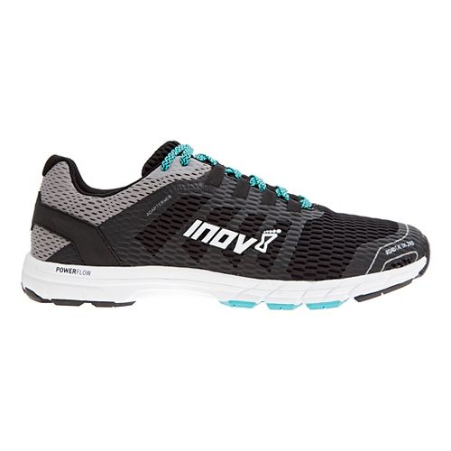 Mens Inov-8 Roadtalon 240 Running Shoe - Black/Grey 10.5