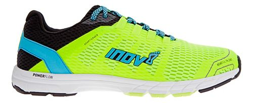 Mens Inov-8 Roadtalon 240 Running Shoe - Neon Yellow/Blue 10.5