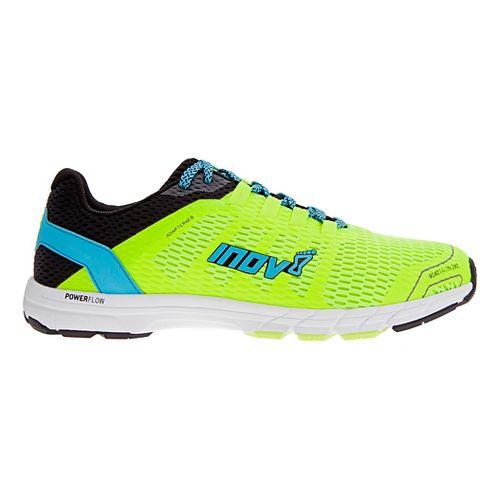 Mens Inov-8 Roadtalon 240 Running Shoe - Neon Yellow/Blue 10.5