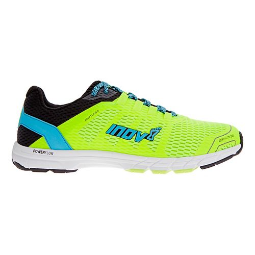 Mens Inov-8 Roadtalon 240 Running Shoe - Neon Yellow/Blue 13