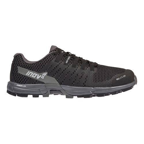 Mens Inov-8 Roclite 290 Trail Running Shoe - Black/Grey 12