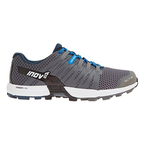 Mens Inov-8 Roclite 290 Trail Running Shoe - Dark Grey/White 9