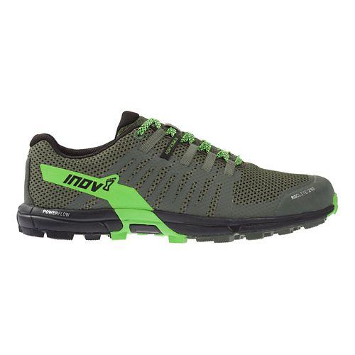 Mens Inov-8 Roclite 290 Trail Running Shoe - Green/Black 9