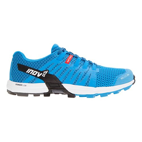 Mens Inov-8 Roclite 290 Trail Running Shoe - Blue/White 12