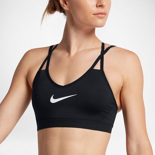 Womens Nike Pro Indy Cooling Sports Bra - Black L