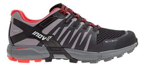Mens Inov-8 Roclite 305 GTX Trail Running Shoe - Black/Red 12.5