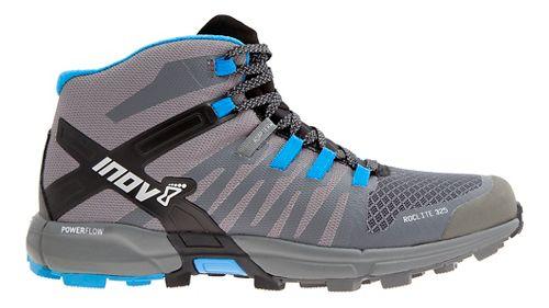 Mens Inov-8 Roclite 325 Trail Running Shoe - Dark Grey/Blue 12.5