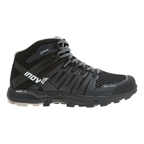 Mens Inov-8 Roclite 325 GTX Trail Running Shoe - Black/Grey 10