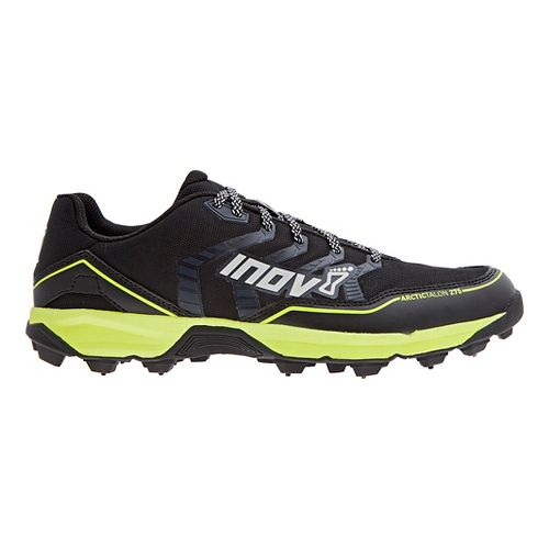 Mens Inov-8 Arctic Talon 275 (P) Trail Running Shoe - Black/Neon Yellow 12