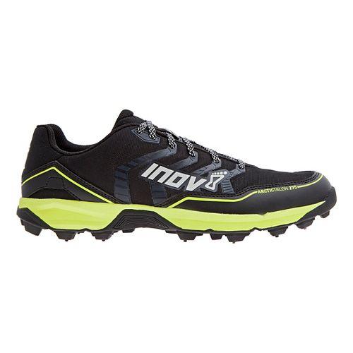 Mens Inov-8 Arctic Talon 275 (P) Trail Running Shoe - Black/Neon Yellow 12.5