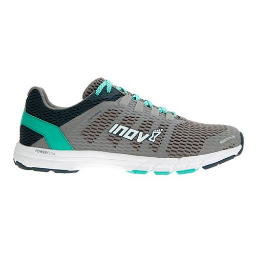 Womens Inov-8 Roadtalon 240 Running Shoe - Grey/Navy/Teal 6