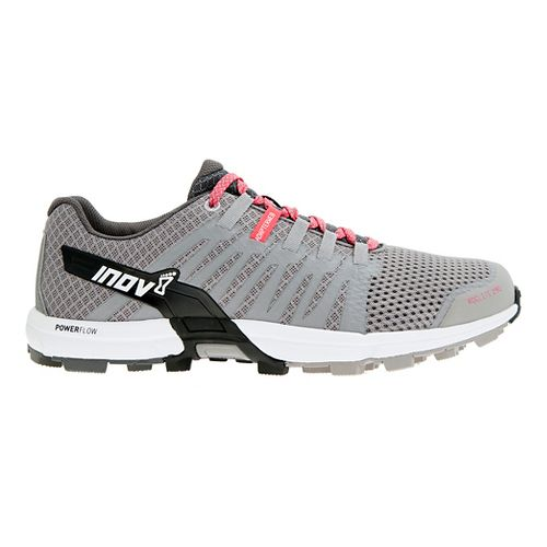 Womens Inov-8 Roclite 290 Trail Running Shoe - Grey/Pink 10