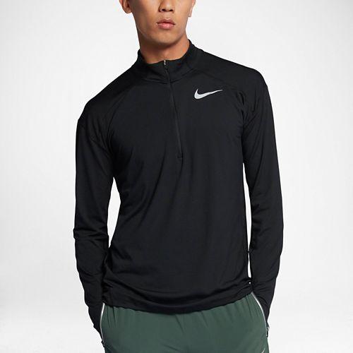 Mens Nike Dry Element Top Half-Zips & Hoodies Technical Tops - Black L