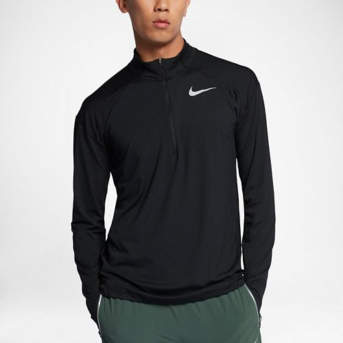 Mens Nike Dry Element Top Half-Zips & Hoodies Technical Tops - Black XL
