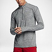 Mens Nike Dry Element Top Half-Zips & Hoodies Technical Tops - Dark Grey/Heather S