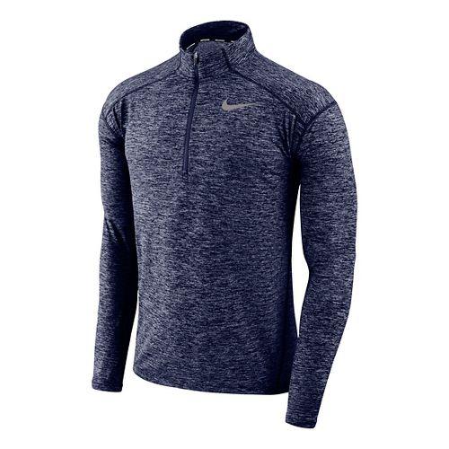 Mens Nike Dry Element Top Half-Zips & Hoodies Technical Tops - Binary Blue/Heather XL