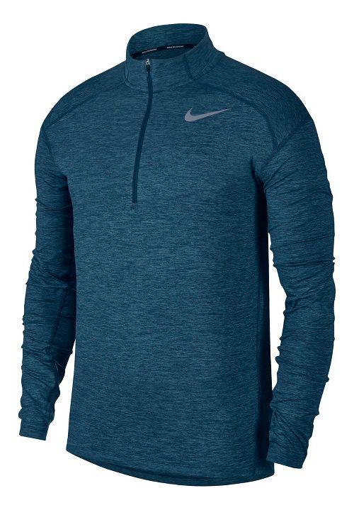 Mens Nike Dry Element Top Half-Zips & Hoodies Technical Tops - Blue Force M