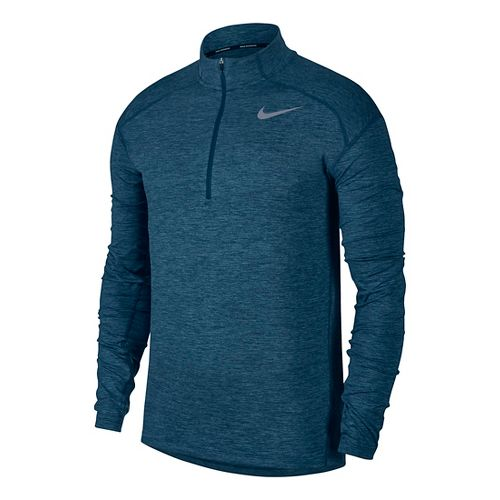 Mens Nike Dry Element Top Half-Zips & Hoodies Technical Tops - Blue Force L