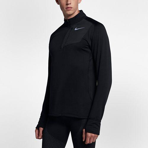 Mens Nike Therma Sphere Element Half-Zips & Hoodies Technical Tops - Black L