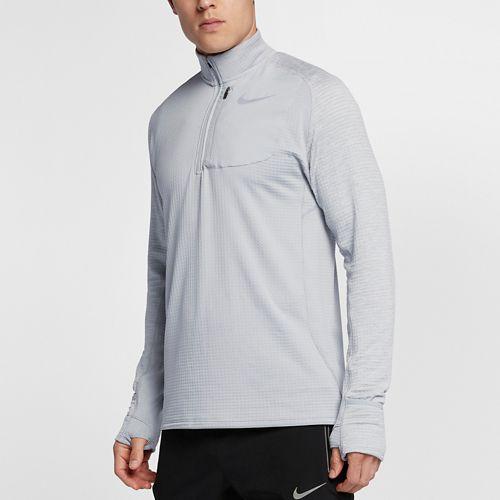 Mens Nike Therma Sphere Element Half-Zips & Hoodies Technical Tops - Wolf Grey S