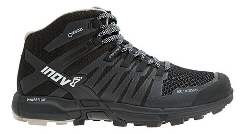 Womens Inov-8 Roclite 325 GTX Trail Running Shoe - Black/Grey 10