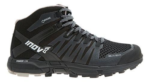 Womens Inov-8 Roclite 325 GTX Trail Running Shoe - Black/Grey 6