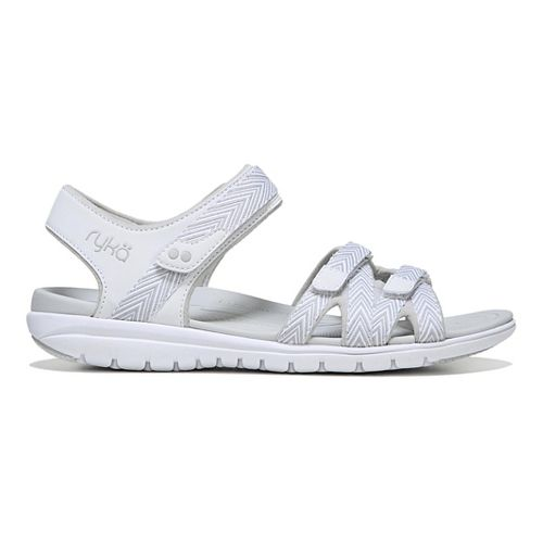 Womens Ryka Savannah Sandals Shoe - Tan/White 7