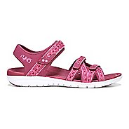 Womens Ryka Savannah Sandals Shoe - Navy/Green 7