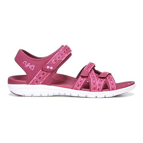 Womens Ryka Savannah Sandals Shoe - Red/Pink 5