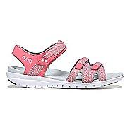 Womens Ryka Savannah Sandals Shoe - White/Grey 7.5