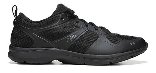 Womens Ryka Seabreeze SR Running Shoe - Black/Grey 7