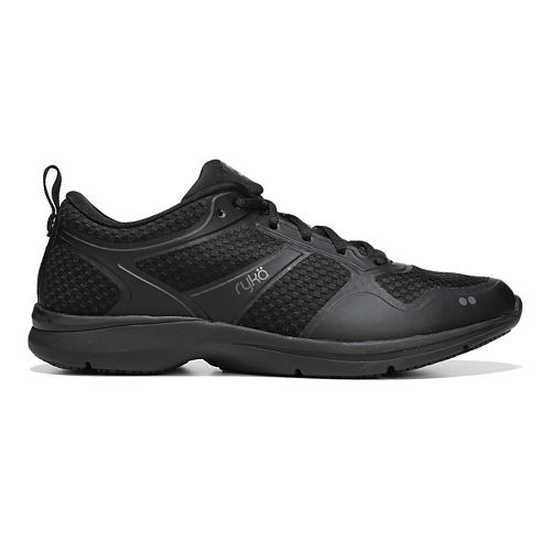 Womens Ryka Seabreeze SR Running Shoe - Black/Grey 9