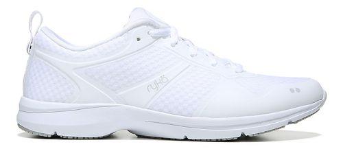 Womens Ryka Seabreeze SR Running Shoe - White/Grey 6.5