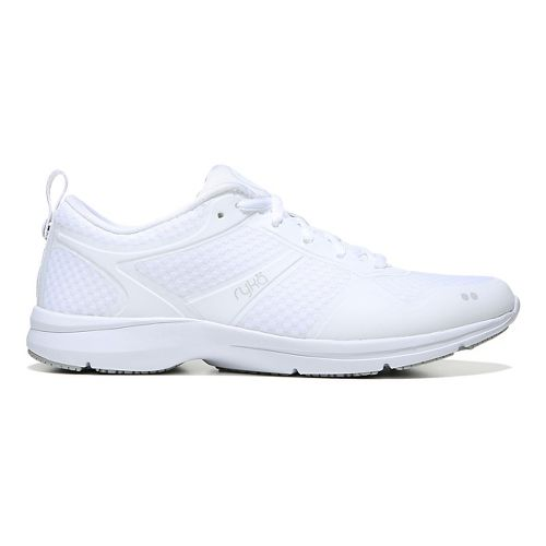 Womens Ryka Seabreeze SR Running Shoe - White/Grey 9.5