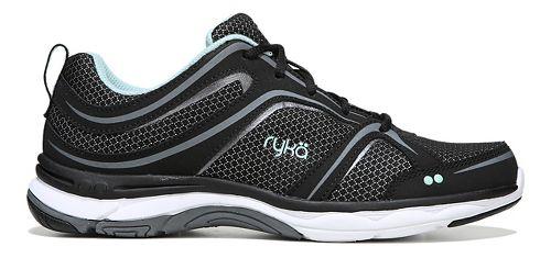 Womens Ryka Shift Walking Shoe - Black/Grey 10.5